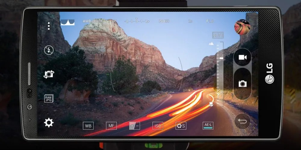 The LG G4 Manual Camera Mode