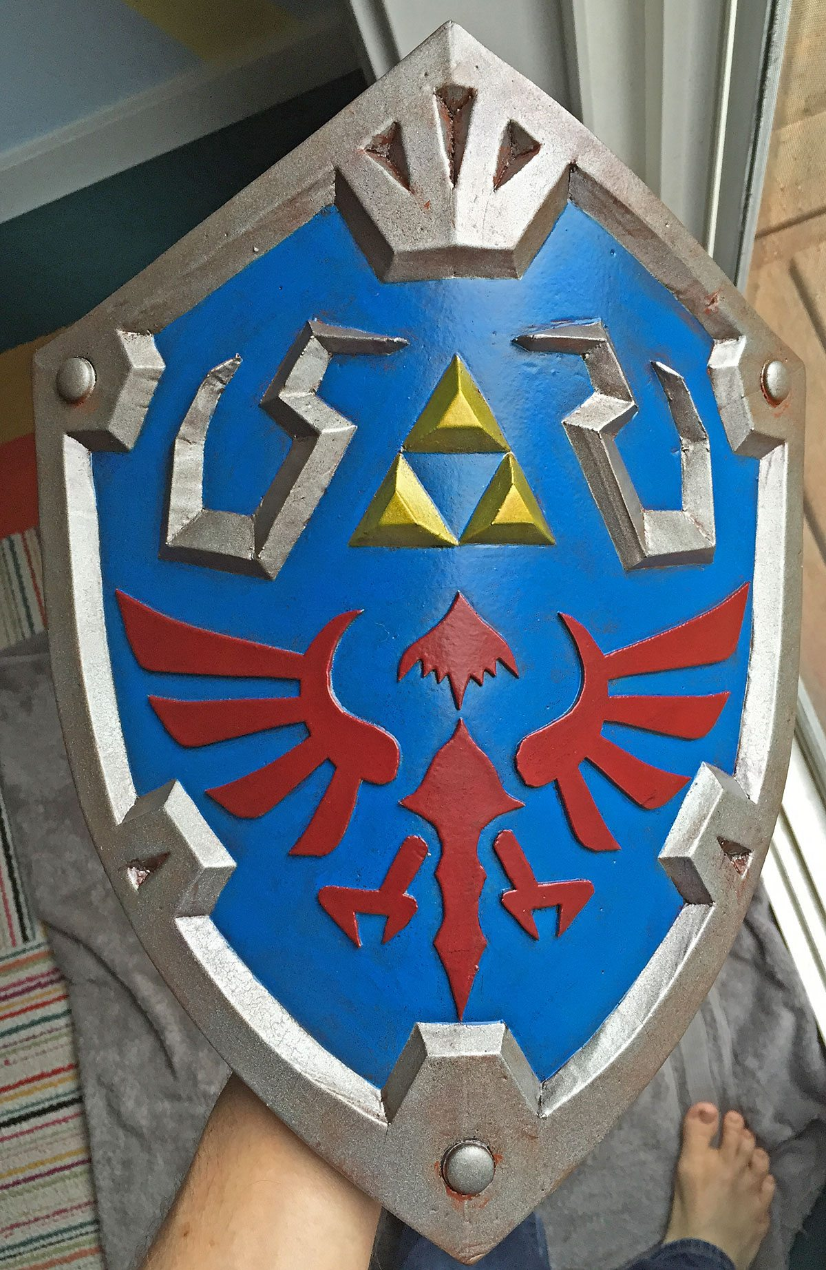 Final Shield. Photo by Will James.