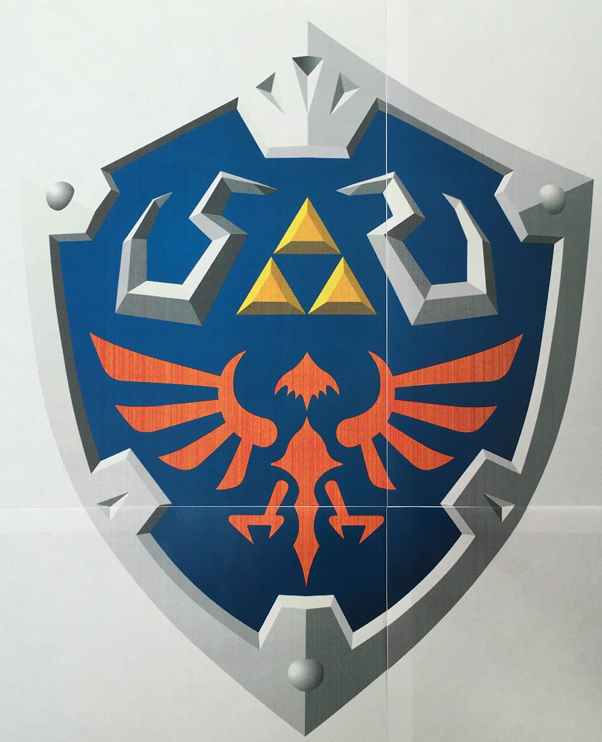 My First Foamsmithing: Link's Hylian Shield - GeekDad