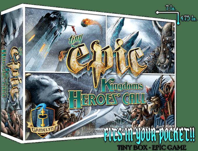 Tiny Epic Kingdoms Heroes' Call