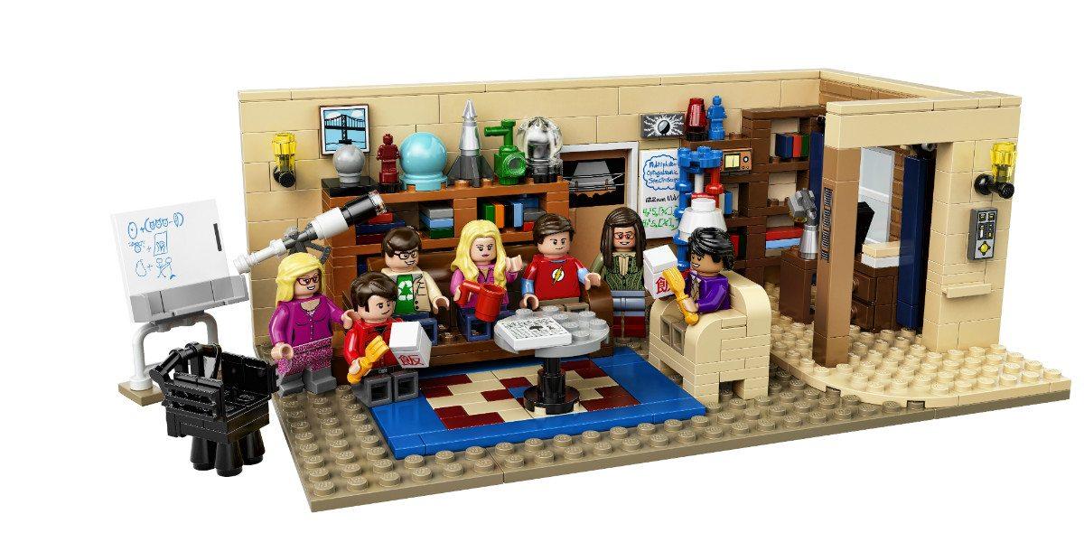 LEGO Ideas 'The Big Bang Theory' Set Design Revealed