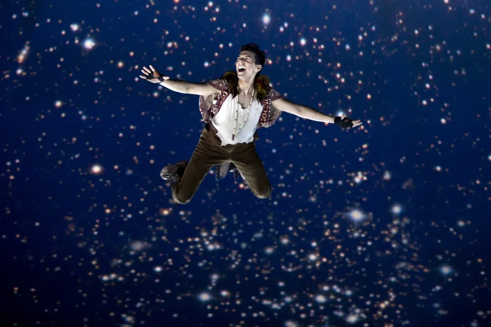 07 Peter Takes Flight PeterPan ThreesixtyTheatre