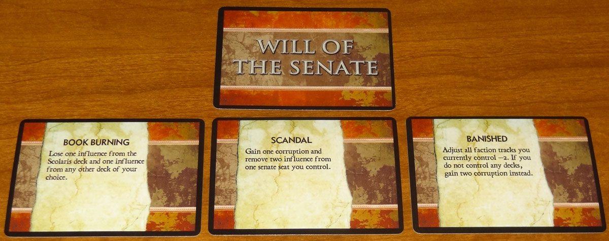 100 AD Will of the Senate