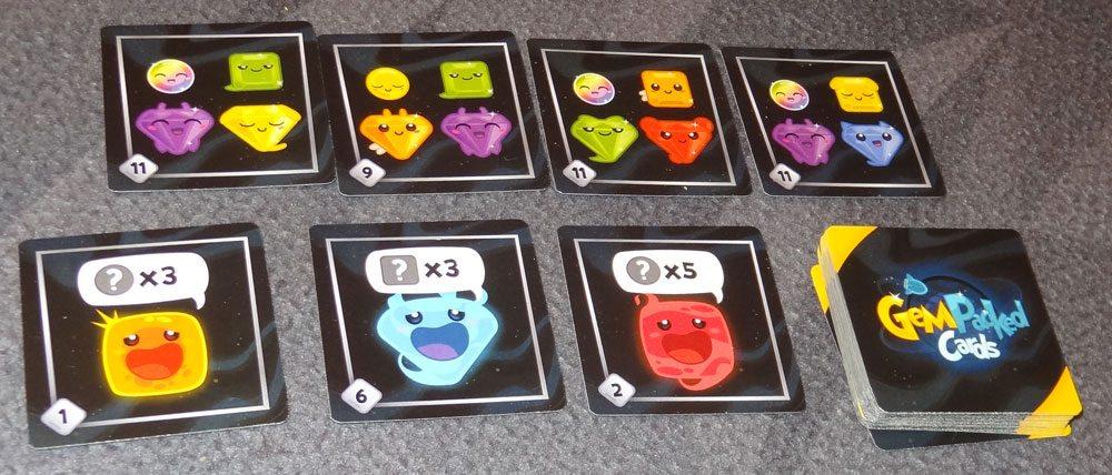 GemPacked goal cards