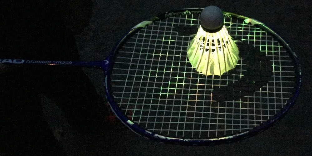 LED badminton bird