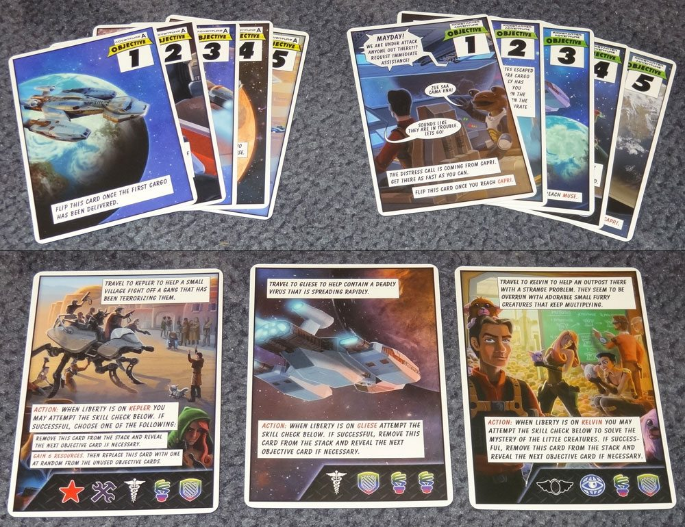 Space Movers objectives