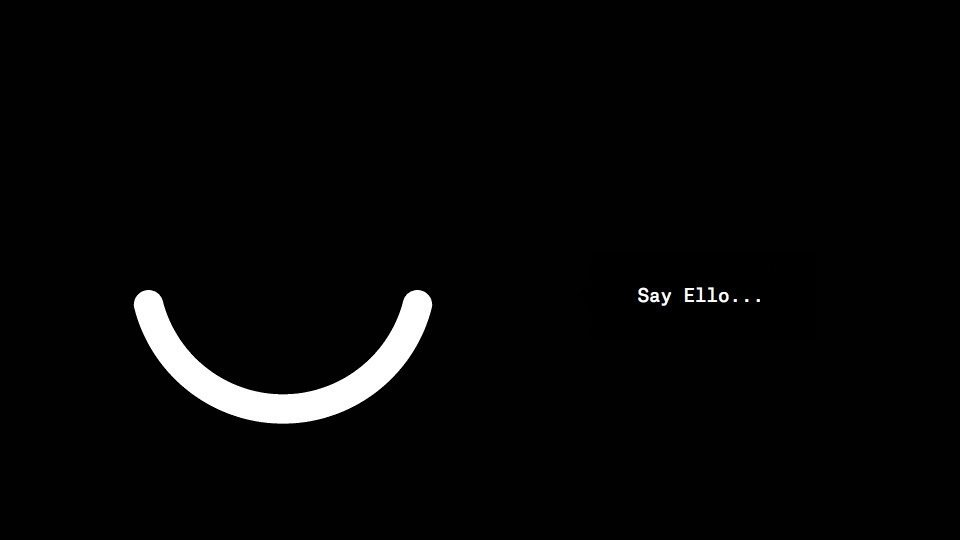 Just kidding. No-one uses Ello. Source: Ello.co