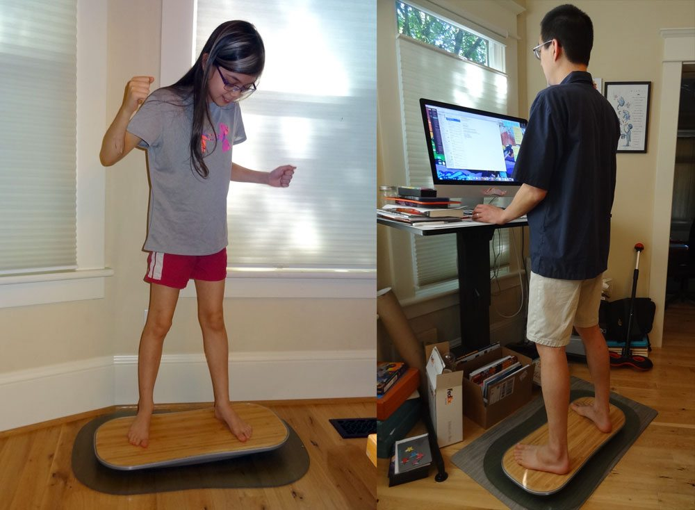 Level Up Your Standing Desk With Fluidstance Geekdad