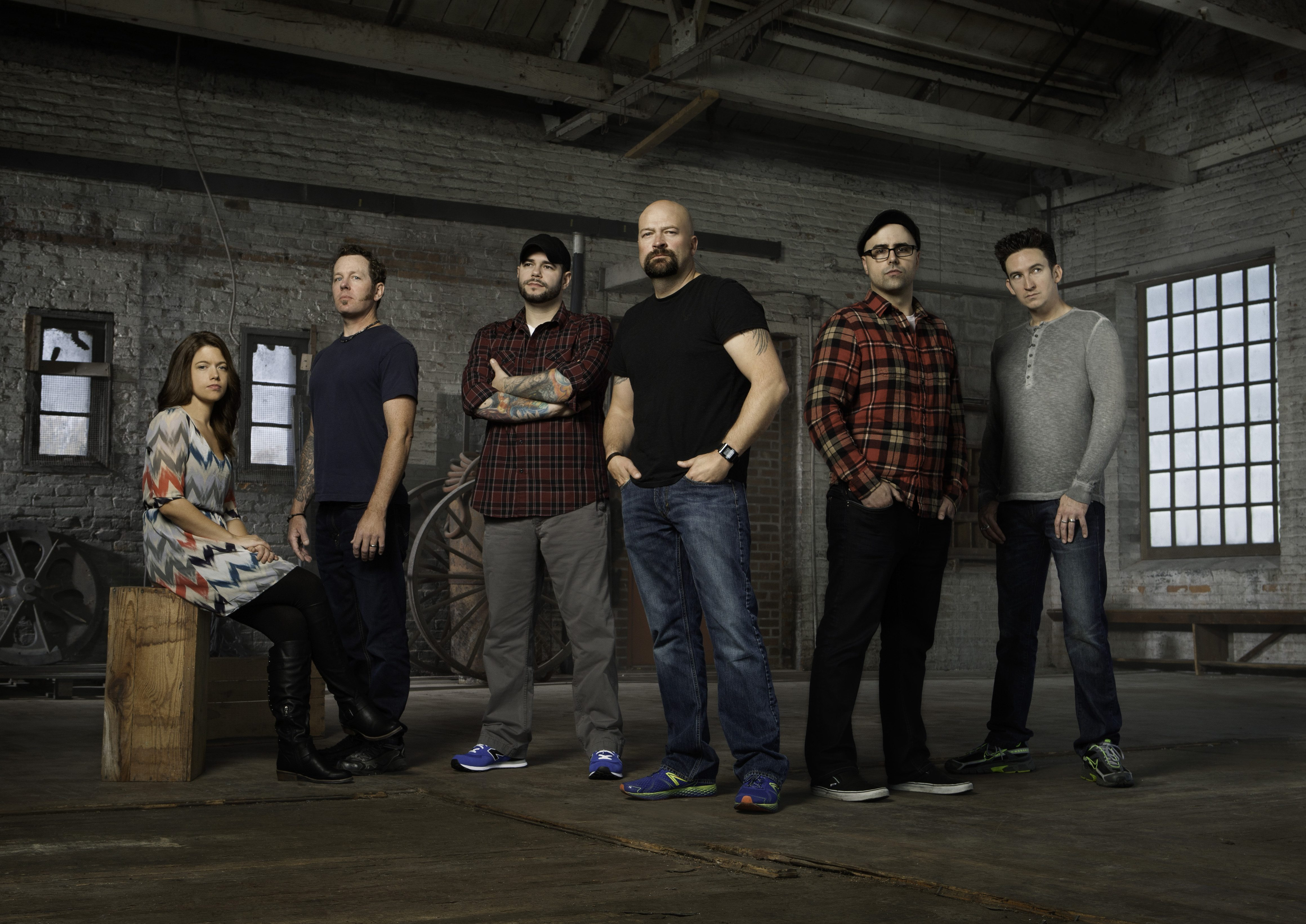 Ghost Hunters Season 10 Crew!  Image courtesy of SyFy Channel and used with permission