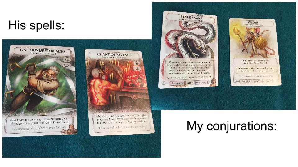 Pheonixborn cards