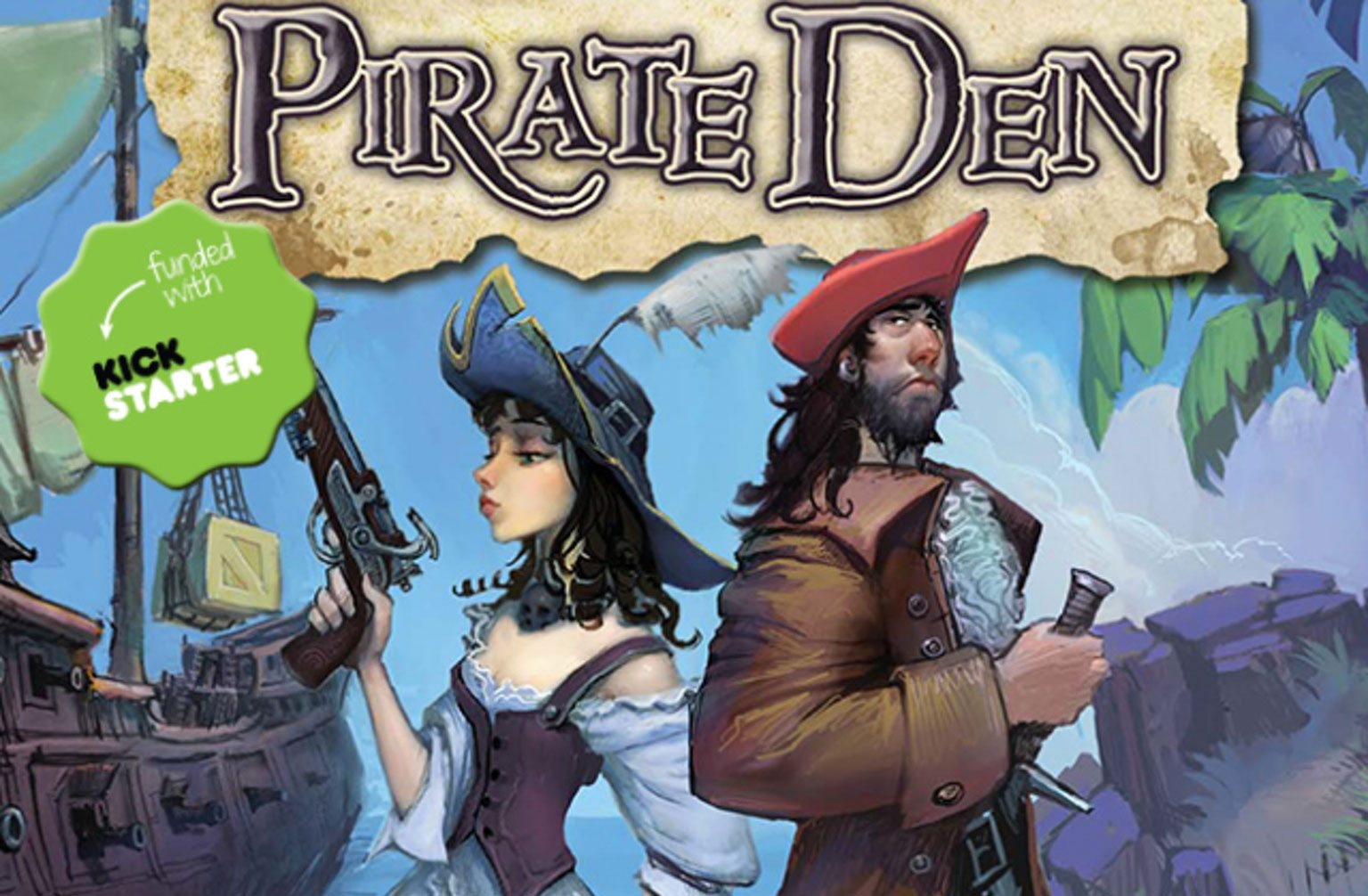 Crash Games Now Publishing 'Pirate Den,' News for Kickstarter Backers