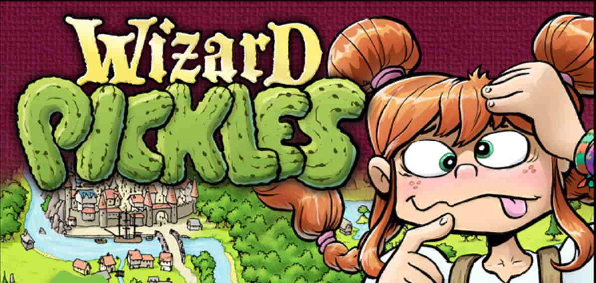 Kickstarter Alert: 'Wizard Pickles' Puzzle Book