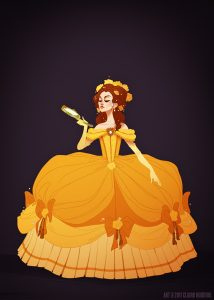 "Belle by Claire ""Shoomlah"" Hummel"