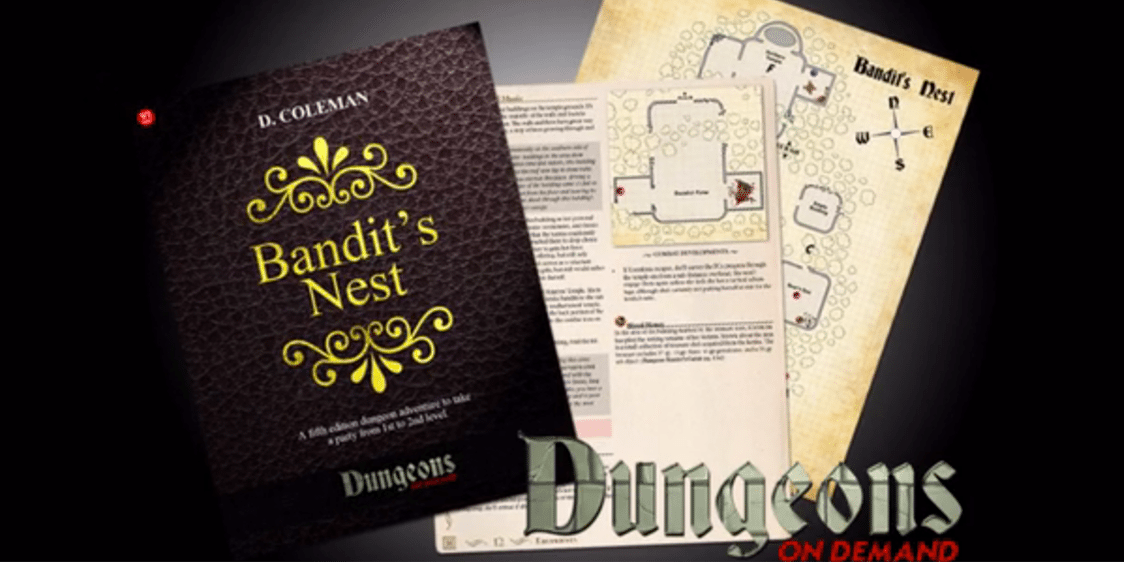 Kickstarter Tabletop Alert: 'Dungeons On Demand' RPG Module