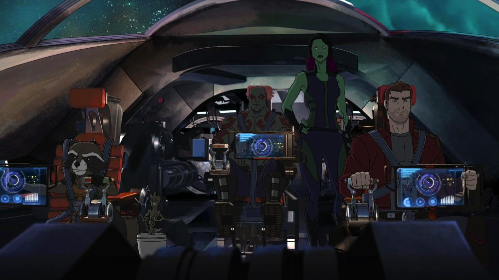 'Guardians of the Galaxy' Gets Animated on XD