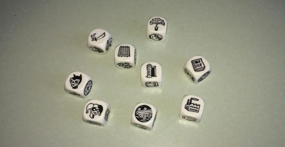 Try making up your own story from my dice roll! Add your story to the comments. Photo: Jenny Bristol