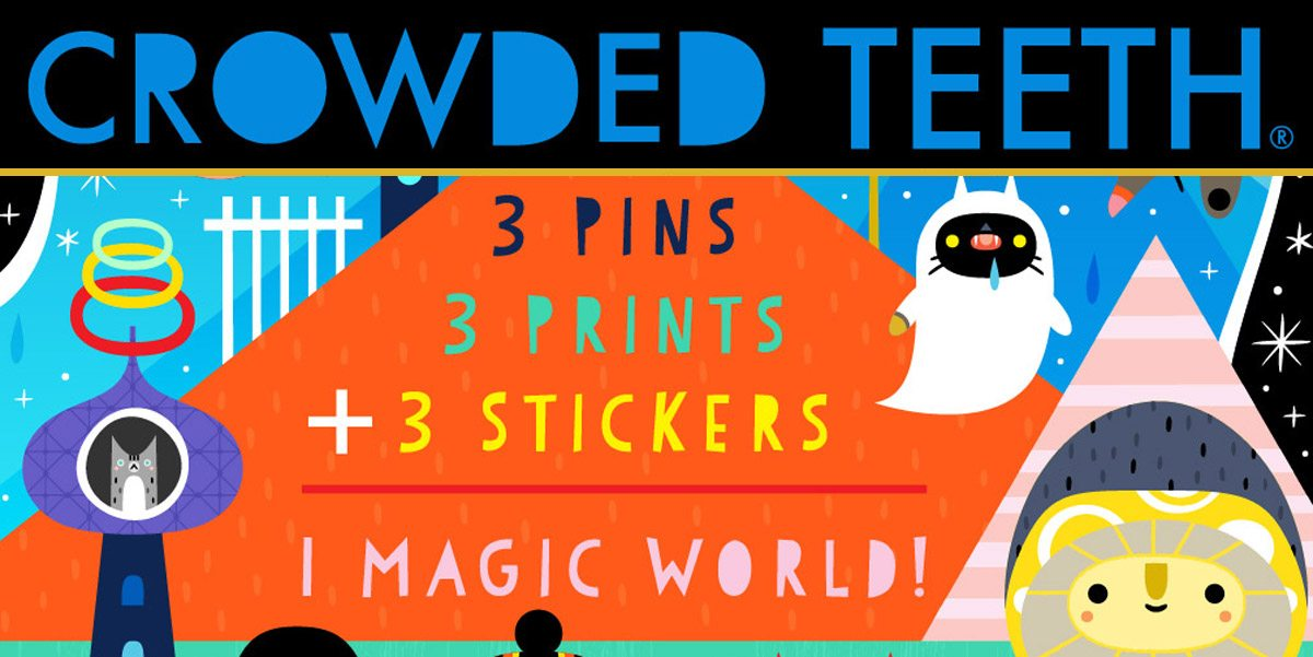 Kickstarter Alert: Crowded Teeth Fantastical Art