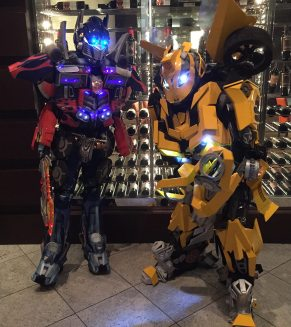 Great looking Optimus and Bee.