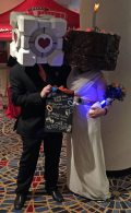 This was a very creative take on Portal cosplay.