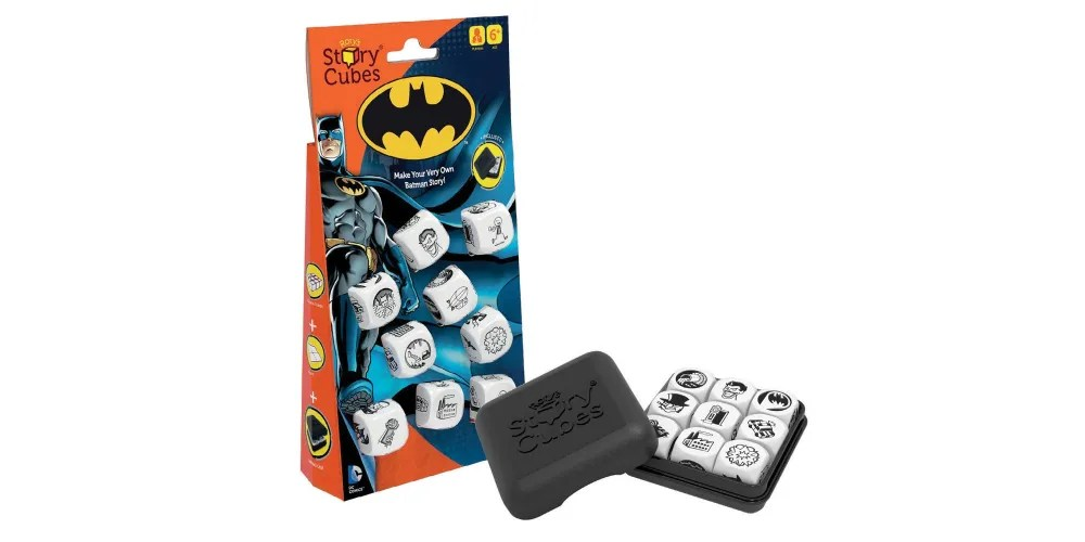 Rory's Story Cubes: Batman. Image: Gamewright