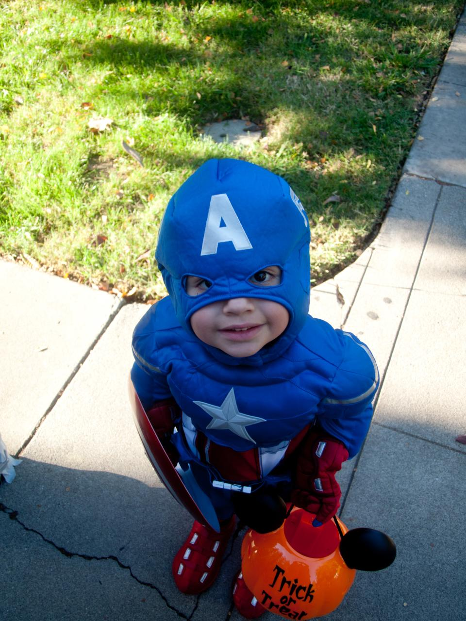 """""""Trick or Treat, citizen!"""" Photo by Patrick Giblin, used under Creative Commons license."""