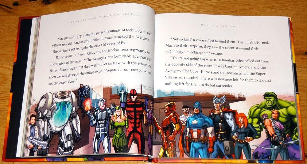 Avengers Storybook