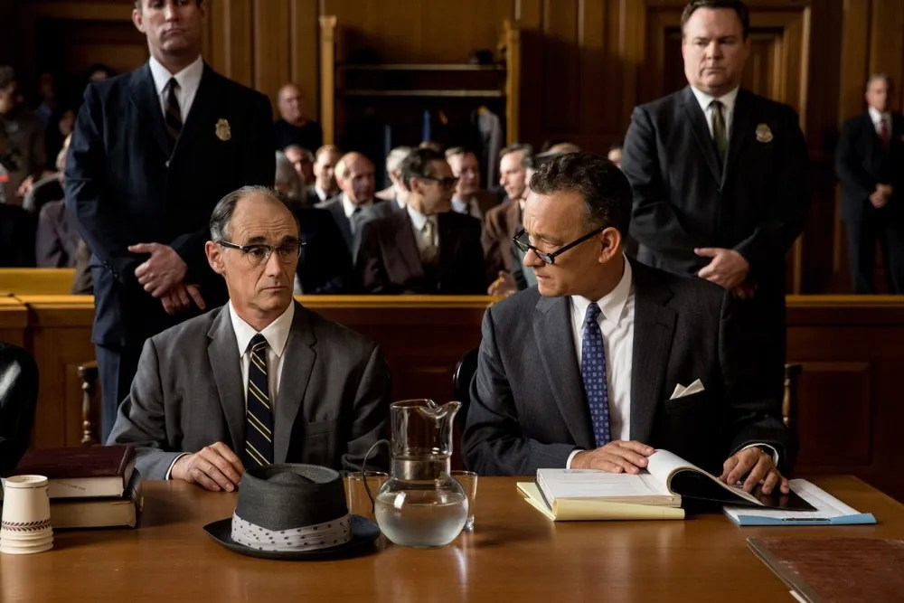 Donovan: Don't you ever worry? Abel: would it help? Steven Spielberg's Bridge of Spies.