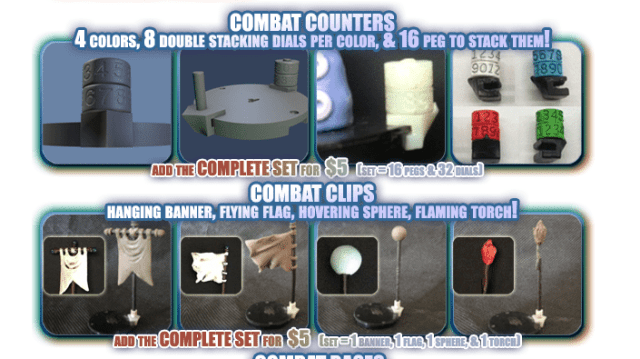 Combat Counters and Clips