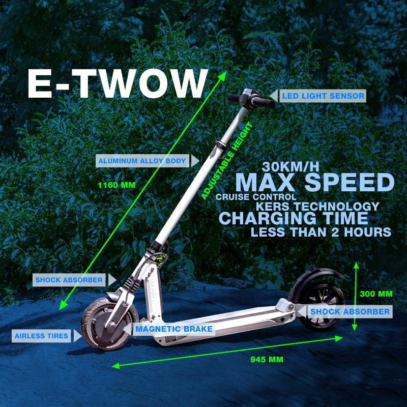 E-TWOW scooter