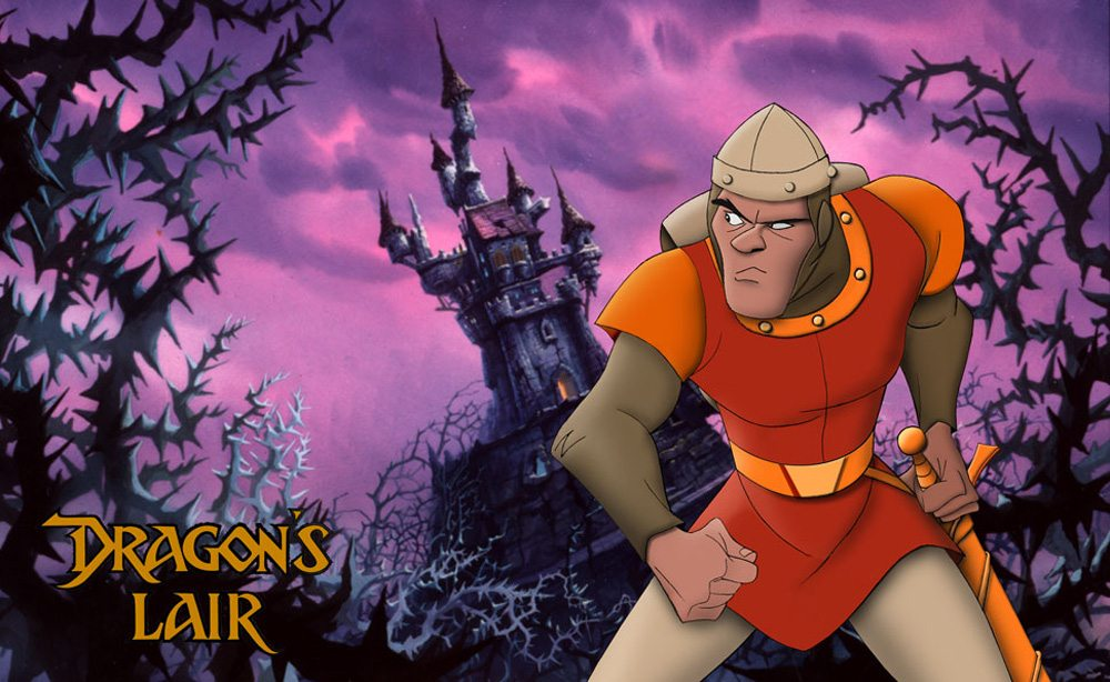 Dragon's Lair - Copyright Don Bluth Films, Inc.