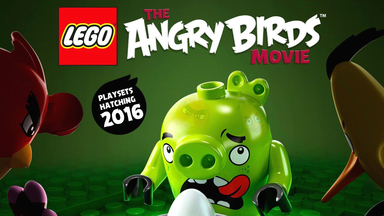 Piggy Lego Minifigures Revealed for 'Angry Birds Movie'