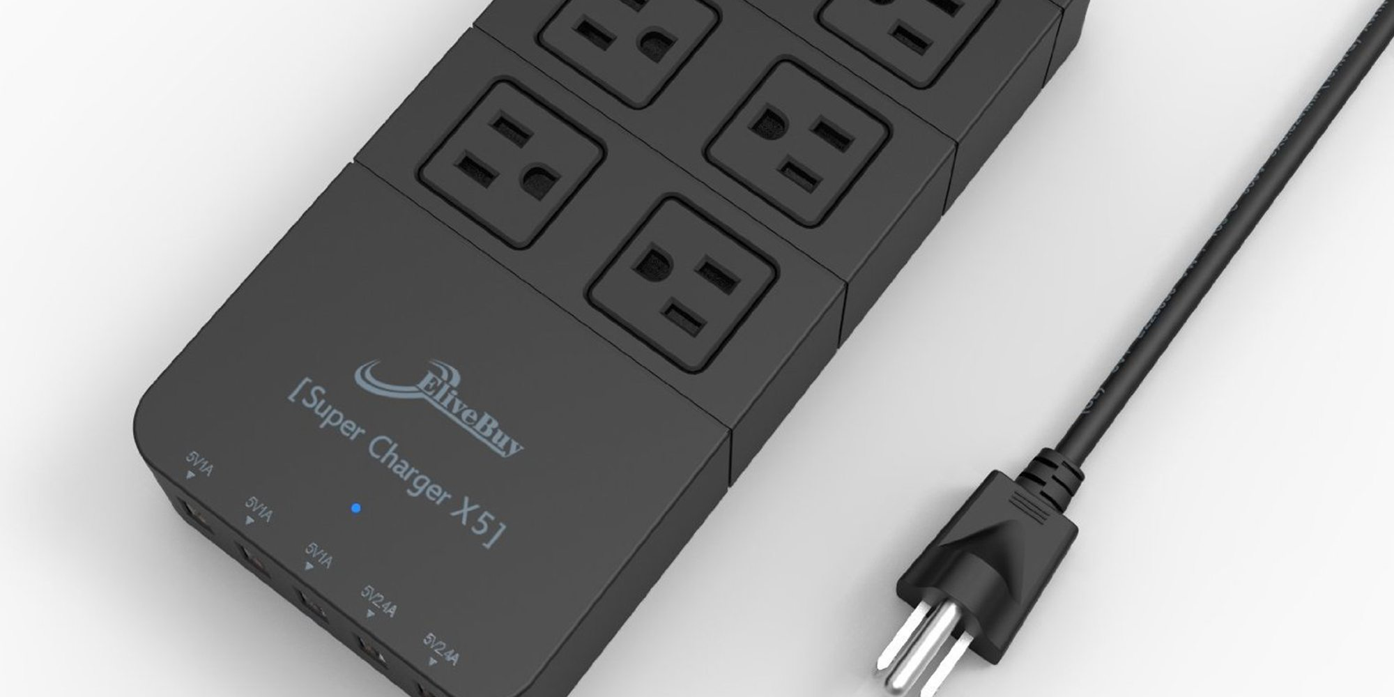 Elivebuy Power Strip Solves All Your Power Needs