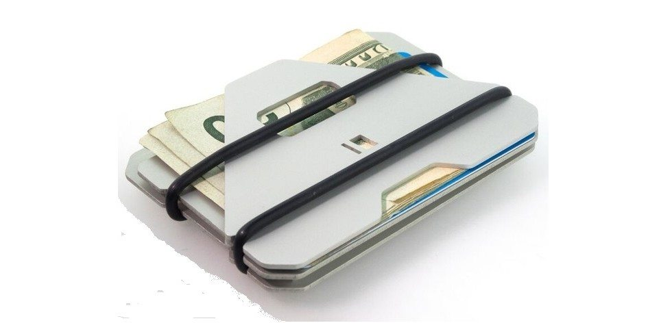 A3 Aluminum RFID-Protected Wallet2