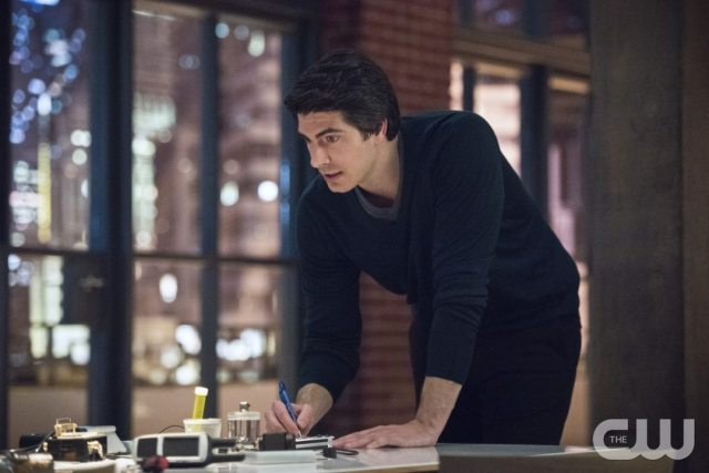 """Arrow -- """"Brotherhood"""" -- Image AR407A_0336b.jpg -- Pictured (L-R): Brandon Routh as Ray Palmer -- Photo: Dean Buscher/The CW -- �© 2015 The CW Network, LLC. All Rights Reserved."""