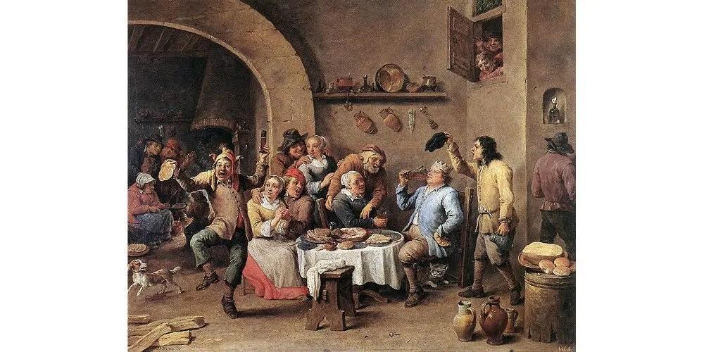 David Teniers, Twelfth Night. Image: Public Domain