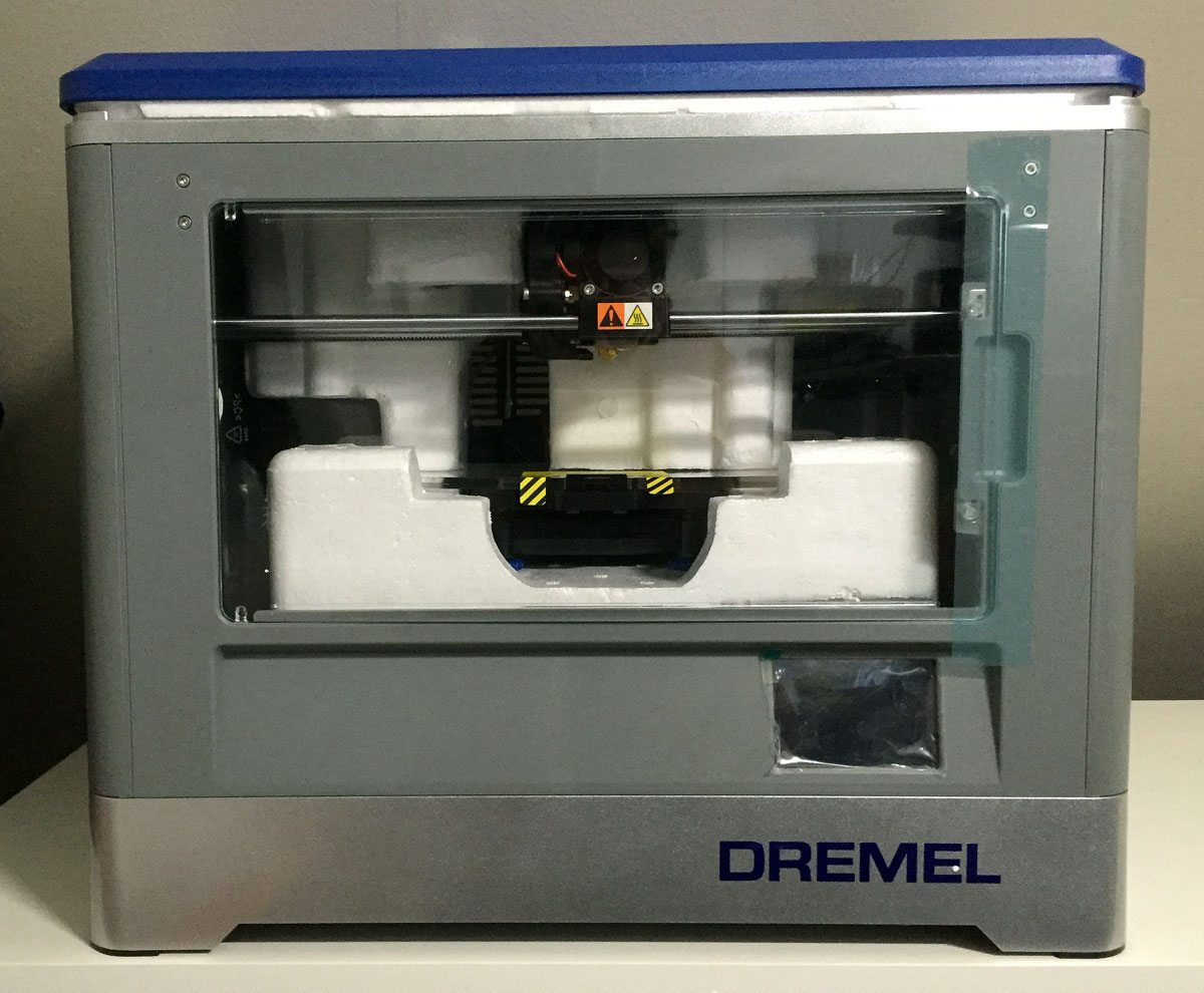 Dremel3D-Unpacking