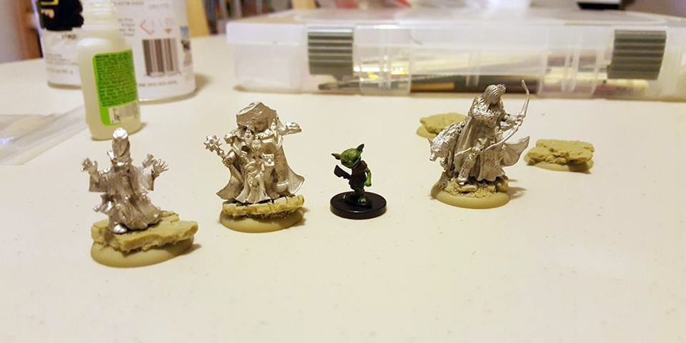 Pathfinder miniatures