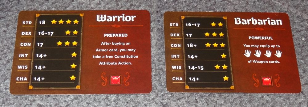 Each Class card is double-sided. (Prototype shown) Photo: Jonathan H. Liu