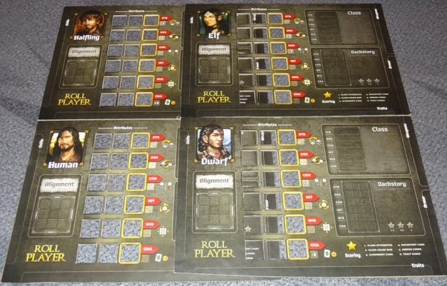 Roll Player boards
