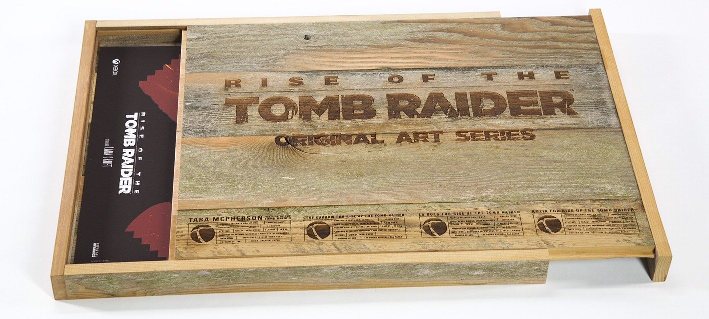 GeekDad Giveaway: 'Rise of the Tomb Raider' Art Set