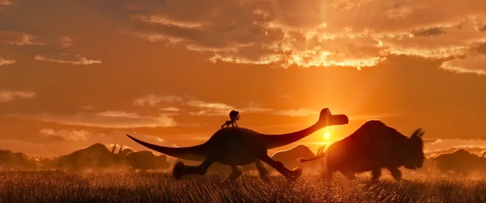 An example of Sharon Callahan's masterful cinematography in 'The Good Dinosaur'. © 2015 Disney-Pixar