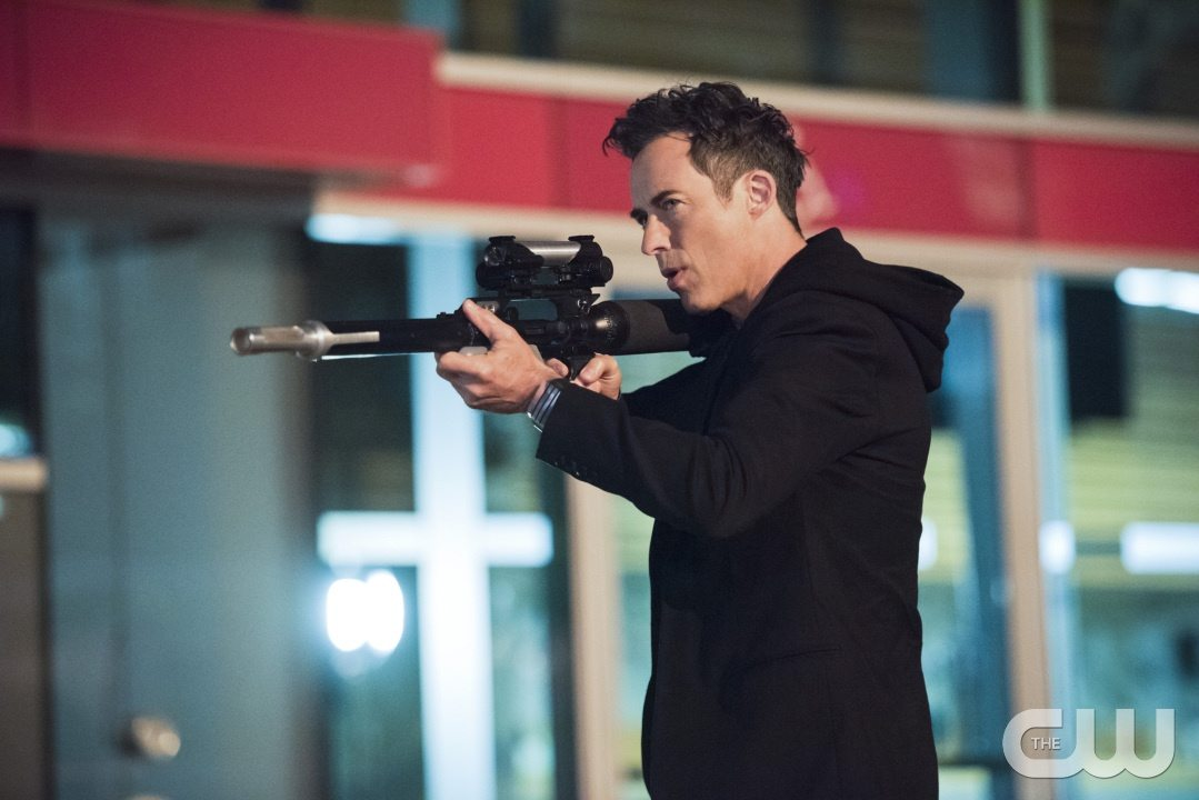 "The Flash -- ""Enter Zoom"" -- Image FLA206A_0146b.jpg -- Pictured: Tom Cavanagh as Harrison Wells -- Photo: Dean Buscher/The CW -- �© 2015 The CW Network, LLC. All rights reserved."