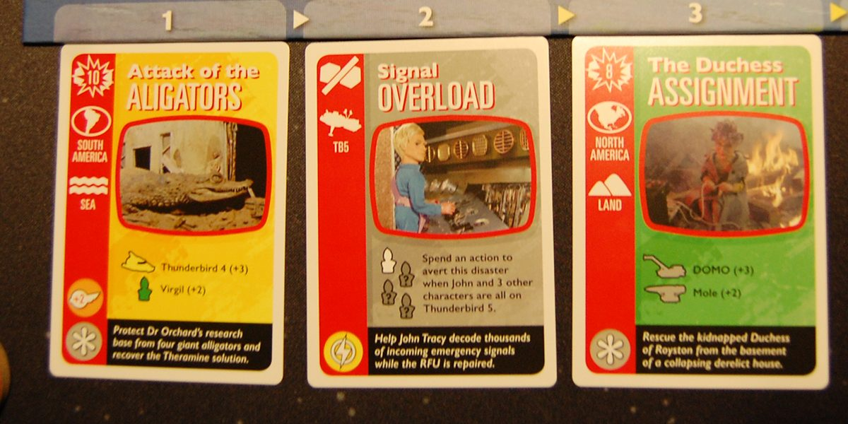 A few of the disaster cards. Photo by Rob Huddleston.