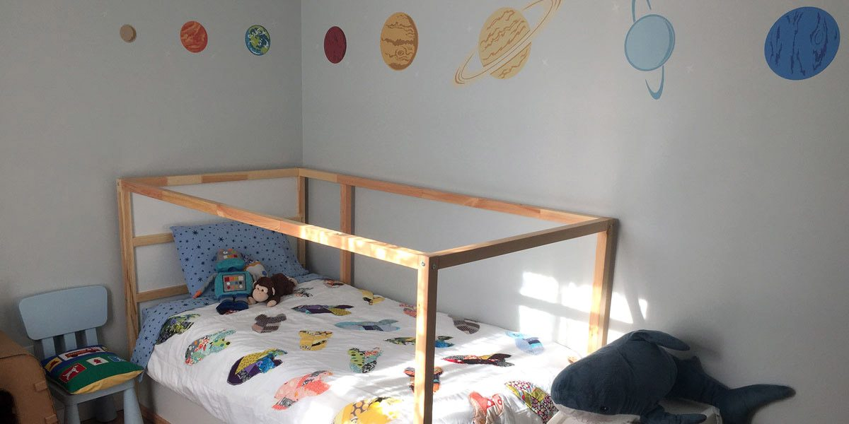 Moving on Up: From Nursery to Big Boy Room