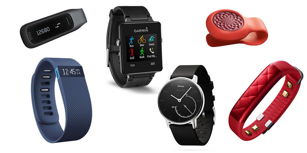 Have a New Year's Resolution? Check Out This Roundup of Fitness & Activity Trackers