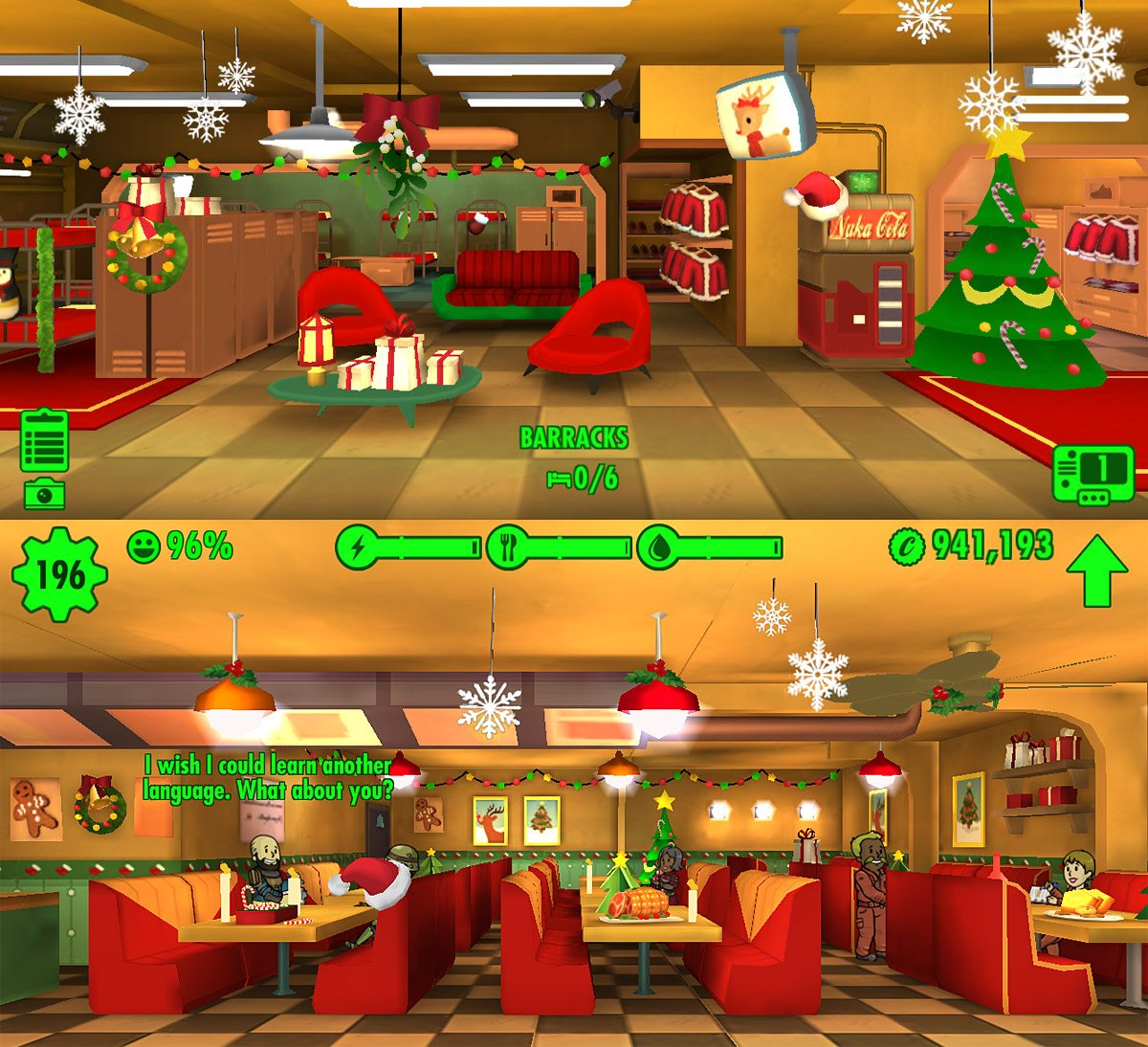 Commuter Gamer: A Merry 'Fallout Shelter' Christmas - GeekDad