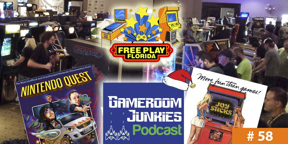 Gameroom Junkies #58: Free Play Filmmaking