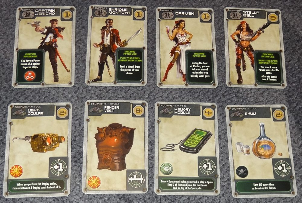 Metal Adventures Improvement cards
