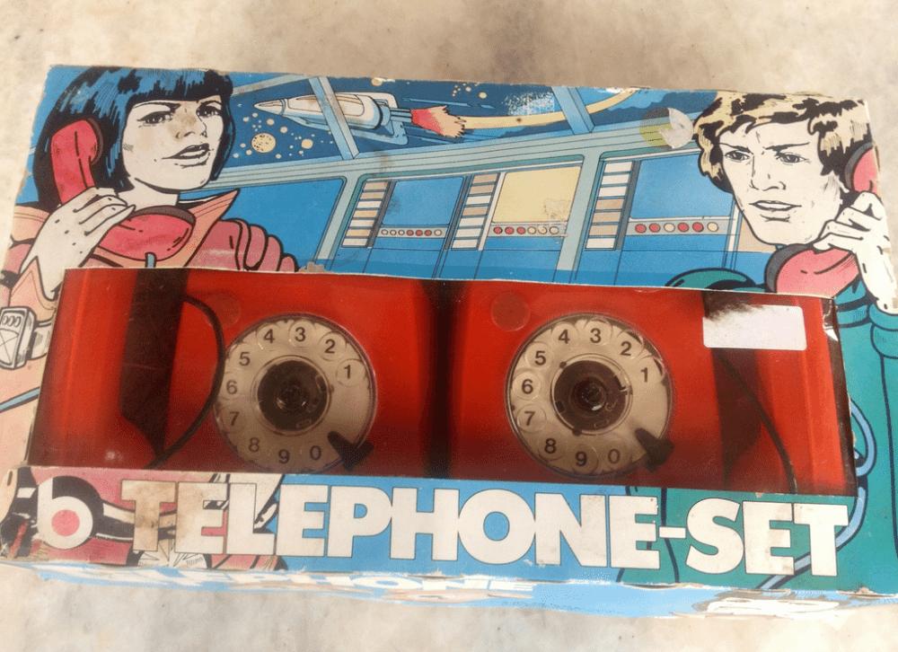 Vintage phone box
