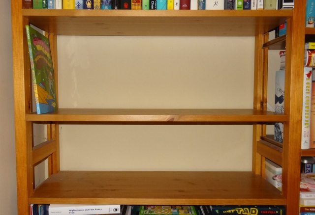 Shelf cleared